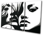 Sexy Girls NUDES Fashion TREBLE CANVAS WALL ART Picture Print
