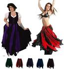 Внешний вид - RENAISSANCE COSTUME MEDIEVAL DRESS-UP BELLYDANCE FAIRY TRIBAL COTTON PETAL SKIRT
