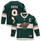 Mikko Koivu Minnesota Wild Fanatics Branded Youth Home Replica Player Jersey
