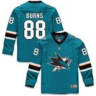 Brent Burns San Jose Sharks Fanatics Branded Youth Replica Player Jersey Teal