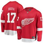 David Booth Detroit Red Wings Fanatics Branded Youth Breakaway Player Jersey