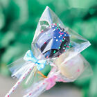 5 Sizes Clear Open Top Lay Flat Poly Bags Candy Cookies Packaging Cellophane