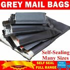 90 BAGS - STRONG POLY MAILING POSTAGE POSTAL QUALITY SELF SEAL GREY  10