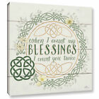 ArtWall Janelle Penner 'Irish Blessing II' Canvas Gallery-wr