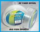 SEAGUAR FLUORO PREMIER Fluorocarbon Leader 50 YARDS PICK YOUR SIZE FREE USA SHIP