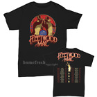 Fleetwood Mac North American Concert Tour 2018 T-Shirt full size Men shirt Black image