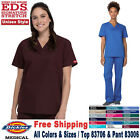 Внешний вид - Dickies Scrubs Set EDS SIGNATURE Unisex V-Neck Top Drawstring Pant(83706/83006)