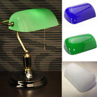 Внешний вид - 5X9'' Glass Banker Modern Desk Lamp Shade Cover Cased Replacement Fixture Holder