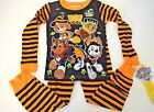 New Paw Patrol Halloween Toddler Boys 2T 3T 4T 5T pajamas glow in the dark