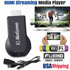 Wireless Wifi Airplay Phone Screen to HDMI TV Mirroring Display HDTV Adapter