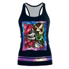 Summer Tank Top Women Vest Halloween Ghost  Printed Sleeveless Sexy Tops