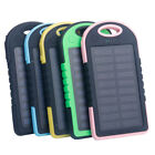 Solar Power Bank 5000mAh Outward Battery Quick Charger for Mobile Phone Colors
