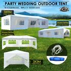 OGL Gazebo Party Wedding Shade Marquee Canopy Event Tent Outdoor Camping White