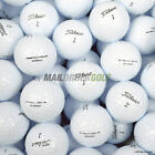 Titleist DT TruSoft Lake Golf Balls Pearl A Grade White and Optic Tru Soft