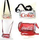 NEW RED CLASSIC COCA-COLA+GREY,GRAY DIET COKE CAN CROSS BODY+PURSE+HAND BAG $55.33  on eBay