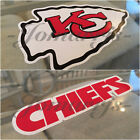 Kansas City Chiefs Sticker Decal Vinyl Sign NFL Football #ChiefsKingdom 3 Sizes $3.49 USD on eBay