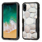 Apple iPhone XS IMPACT TUFF HYBRID Protector Case Skin Covers +Screen Protector