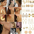 Boho Geometric Round Circle Dangle Drop Ear Stud Earrings Women Fashion Jewelry