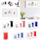 Baby Newborn Handprint Footprint Imprint Clean-Touch Ink Pad Photo Frame Kit New