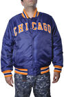Chicago Sports Team Football Bears Chi Town Winter Plus Size Button Up Jacket