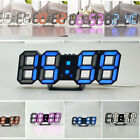 LED Digital Display Large Big Jumbo Snooze Wall Room Desk Calendar Alarm Clock