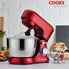 Cooks Professional Stand Mixer 1000W Electric 8 Speed Mixing Bowl Dough Hook NEW