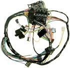 70 Nova Dash Wiring Harness Column Shift AT and all MT, w/warning lights, NEW