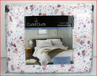 Cuddl Duds Heavy Weight 100% Cotton FLANNEL Sheet Set - Pastel Floral Flowers image