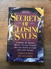 Secrets of Closing Sales by Charles B. Roth and Roy Alexander (1997, Paperback)