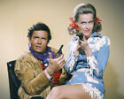 Cliff Robertson and Dina Merrill in Batman western clothes 16x20 Poster