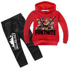 2tlg Fortnite Kinder Jungen Traininganzug Kapuzenpullover Sweatshirt Jogginghose