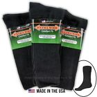 Big & Tall Men's Extra Wide Socks ATHLETIC CREW Size 8-11 BL