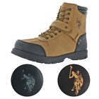 US Polo Assn Connor Mens Buckle Duck Toe Boots