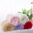 Soft Shaggy Faux Fur Blanket Long Plush Warm Reversible Decorative Bed Blankets image
