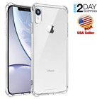 iPhone Ten XR Case Shock Absorbing TPU Bumper Slim Crytal Clear Hard Back Cover