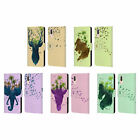 HEAD CASE DESIGNS WILDLIFE SILHOUETTE LEATHER BOOK WALLET CASE FOR HUAWEI PHONES