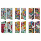 OFFICIAL LAUREN MOSS FLOWERS LEATHER BOOK WALLET CASE COVER FOR SAMSUNG PHONES 1