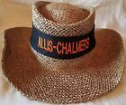 Allis Chalmers Lined Straw Hat with Embroidered Hat Band (2 colors)