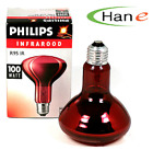 Philips Infrared Light Lamp Bulb 100W 150W 250W 220V Massage Health Therapy Heat