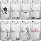 PERSONALISED INITIALS PHONE CASE MARBLE HARD COVER FOR XIAOMI MI A2, MI MAX 3….