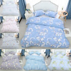 100% Long Staple Cotton Duvet Cover w Pillow Case Quilt Covers Bedding Set 300TC image