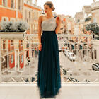 Ever-Pretty US Long One-shoulder Bridesmaid Wedding Dresses Formal Prom Gowns