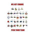 (1) NFL KEYCHAIN ~ SOFT PVC RUBBER ~ PICK YOUR TEAM ~ NFL LICENSED ~ HOT NEW $2.71 USD on eBay