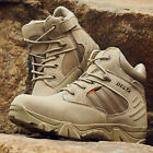 Desert Delta Force Military Boots Men Tactical Airsoft Hunting outdoor tan Army