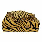 Superior Wrinkle Resistant Animal Print Deep Pocket Microfiber Sheet Set image