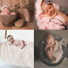 Внешний вид - Baby Photo Props Backdrop Newborn Photography Soft Fur Quilt Mat Blanket Rug S