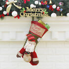 Merry Christmas Hanging Stockings Gift Candy Bag Christmas Decoartions O1L7