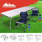 Weisshorn Folding Camping Table And Chairs Set Portable Picnic Outdoor Garden