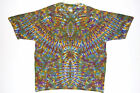 Adult TIE DYE Phoenix Blotter T Shirt hippie art 5X 6X grateful dead plus size