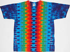 Adult TIE DYE Rainbow DNA T Shirt hippie 5X 6X art grateful dead plus size